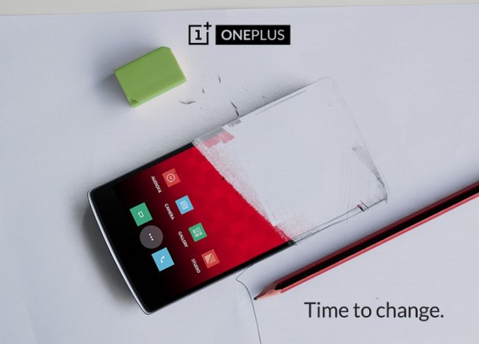 "OnePlus ""Time to change"" teaser"