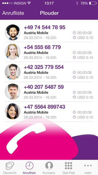 Aplikacja mobilna Plouder