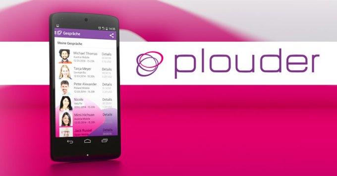 Plouder - aplikacja do wykonywania rozmów międzynarodowych