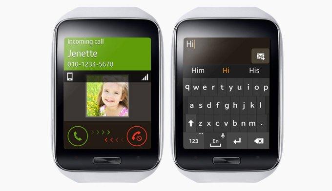 Gear S - funkcja dzwonienia i odpisywania na SMS-y