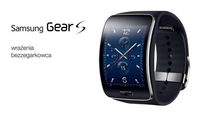Samsung Gear S - header