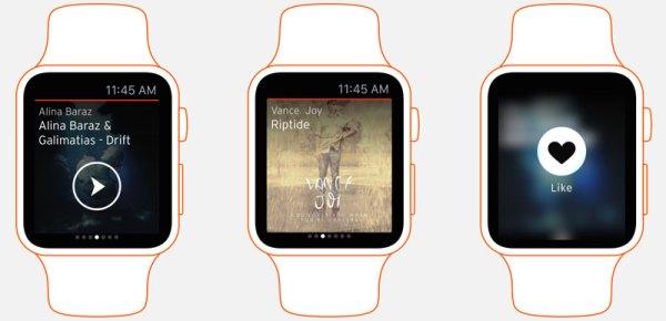 SoundCloud na Apple Watcha
