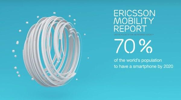 Za 5 lat 70% populacji na świecie będzie używać smartfonów