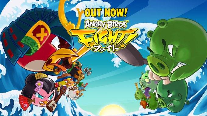 Angry Birds Fight! gra mobilna