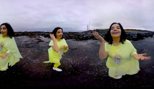 Björk w teledysku 360° VR