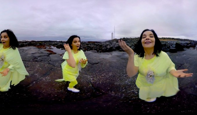 Björk Stonemilker - teledysk w VR 360 stopni