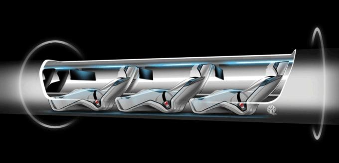 Kapsuła pojazdu Hyperloop
