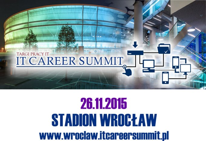 IT Career Summit Wrocław 2015 - banner