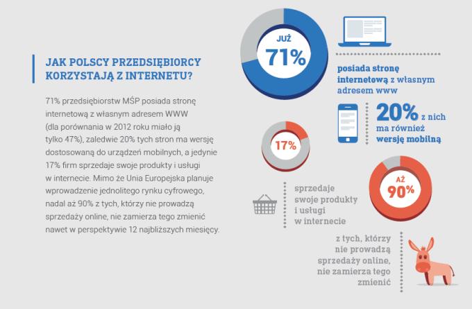 Jak polscy przedsiębiorcy korzystają z internetu?
