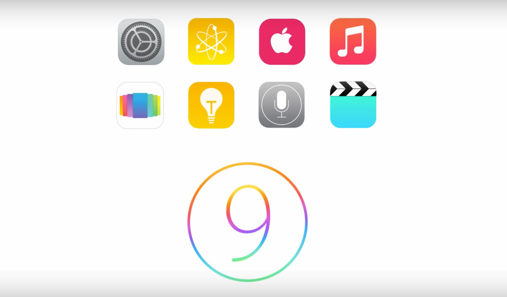 Koncepcje systemu iOS 9