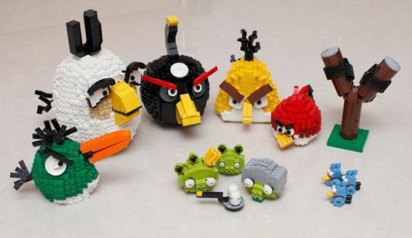LEGO zrobi klockowe Angry Birdsy
