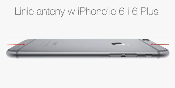 Czy z iPhone'a znikną linie anteny?