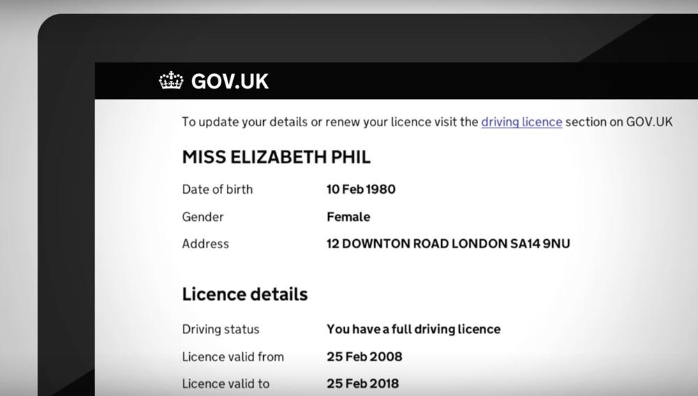 internetowe prawo jazdy w Wielkiej Brytanii