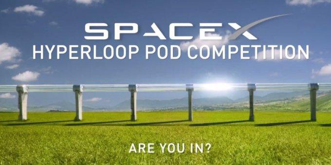 Konkurs na kapsułę dla Hyperloop od Space X