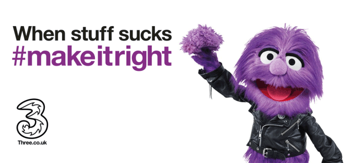 Three - When stuff sucks make it right