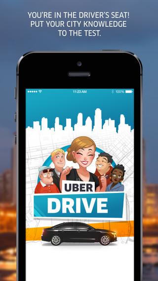 gra mobilna UberDRIVE