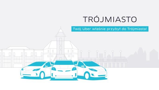 Uber w Trójmieście
