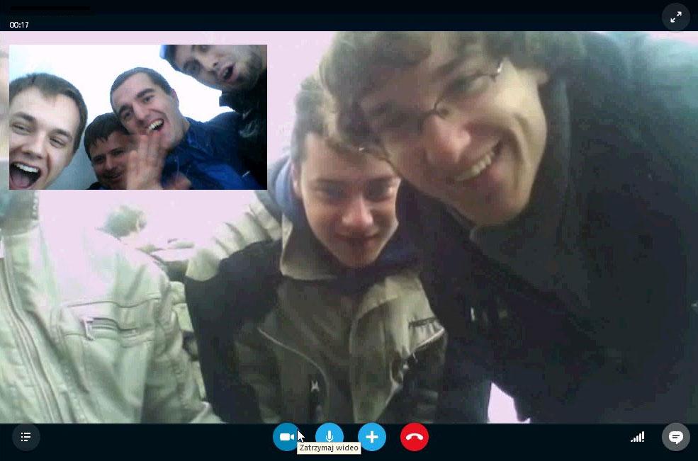 Wireless Group - połączenie Wi-Fi z 250 km (rozmowa Skype)