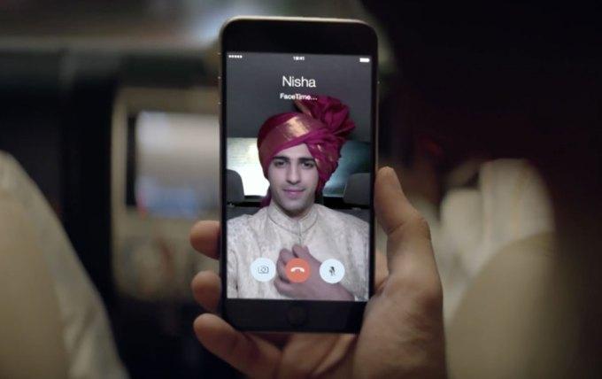 Indyjska reklama iPhone 6 - Apple
