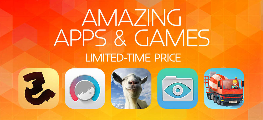 Amazing Apps & Games - limited-time price - promocja w App Store