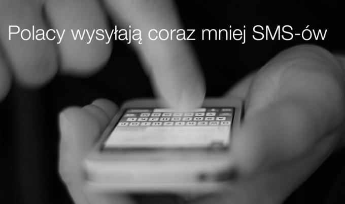 Polacy wysyłają coraz mniej SMS-ów (raport)