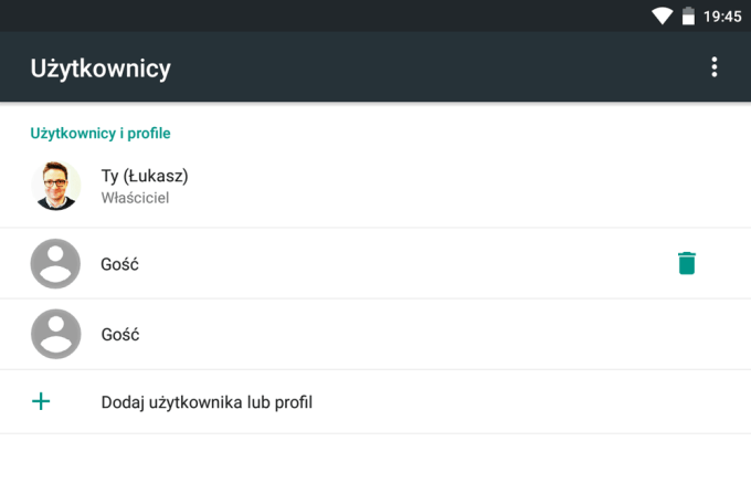 Instrukcja zmiany zdjęcia profilowego w Androidzie (krok 3)