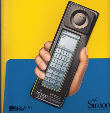 IBM Simon ulotka