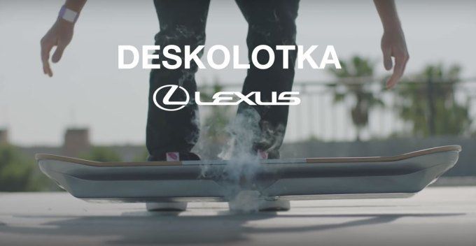 Deskolotka firmy Lexus