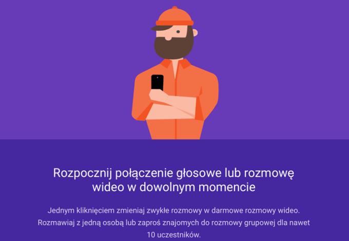 Google Hangouts - funkcje