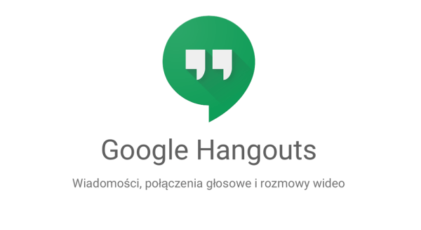 Google Hangouts jako osobny serwis