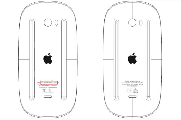 Apple Magic Mouse 2 i klawiatura z Bluetooth 4.2