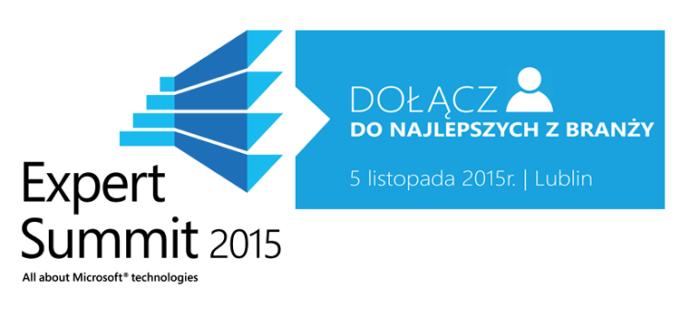 Expert Summit 2015 5 listopada w Lublinie