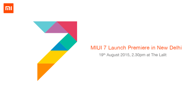 MIUI 7 zostanie wydany 19 sierpnia