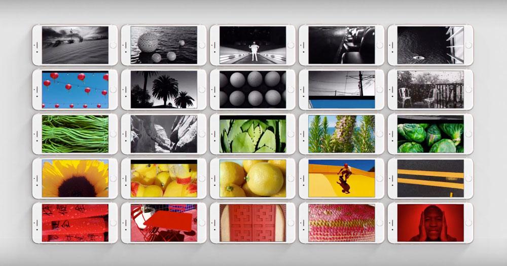 "Kadr z reklamy iPhone'a pt. ""Photos & Videos"""