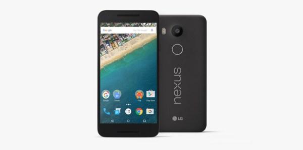 Nexus 5X od LG i Google'a
