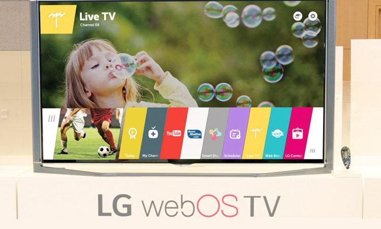 LG webOS 1.0 update