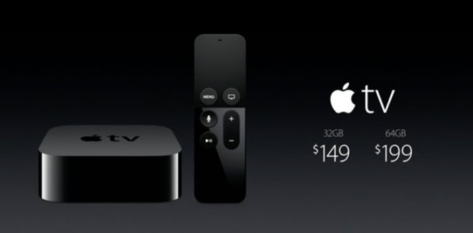 Apple TV - cena
