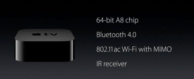 Apple TV - specyfikacja