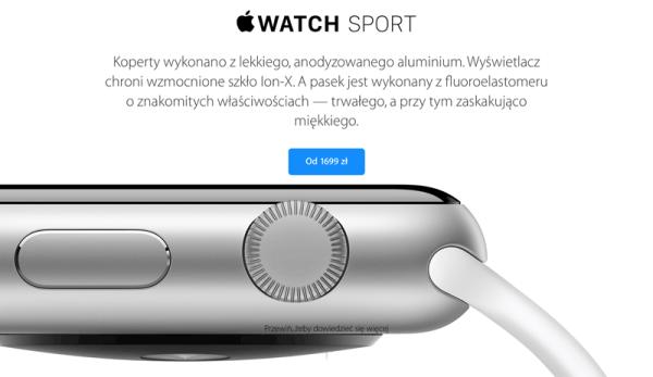 Jakie są ceny Apple Watch w Polsce?