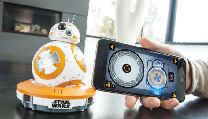 Aplikacja mobilna do robota BB-8 od Sphero