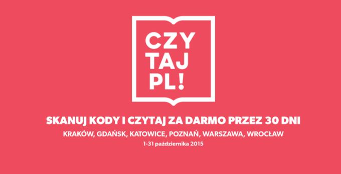 CzytajPl! - akcja promująca czytelnictwo w Polsce (1-31 października 2015 r.)