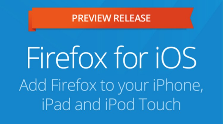 Firefox na iOS-a (Nowa Zelandia App Store)
