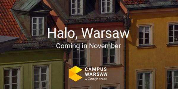 Google Campus Warsaw ma swoją stronę