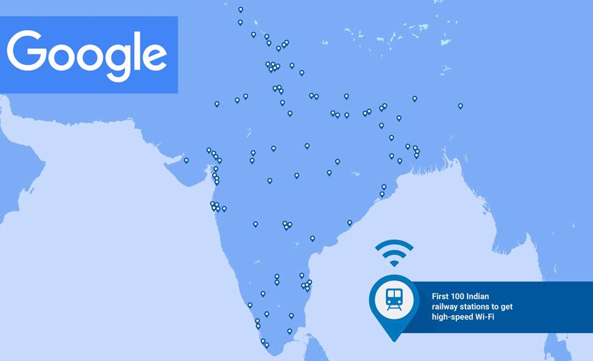 Bezpłatny internet bezprzewodowy W-Fi w Indiach od Google'a
