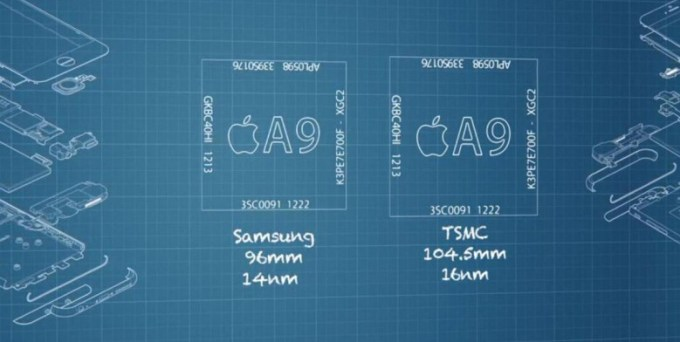 Chipgate - afera z procesorem A9 w iPhone 6s i 6s Plus (Samsung i TSMC)