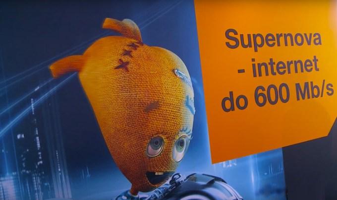 Internet Orange Supernova do 600 Mb/s