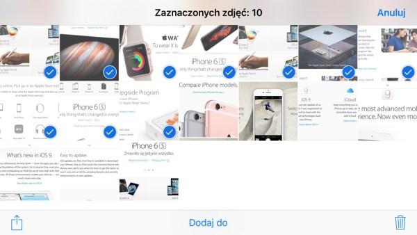 Jak szybko usunąć wiele zdjęć z iPhone'a?