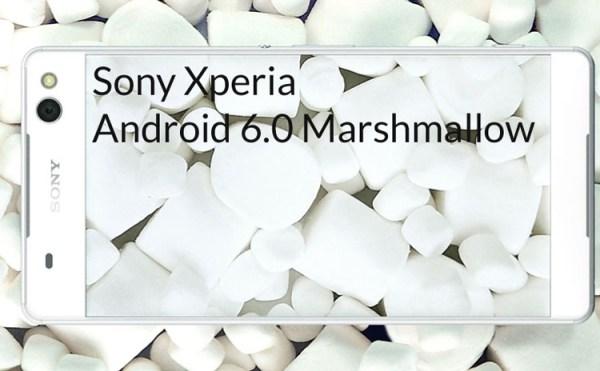 Smartfony i tablety Sony, które dostaną Androida 6.0 Marshmallow