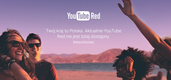 YouTube Red Polska