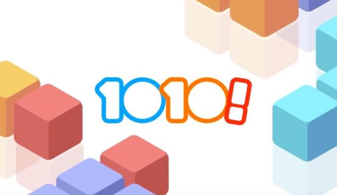 1010! - mobila gra logiczna od GRAM Games
